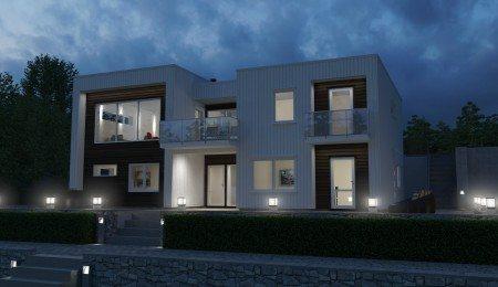 Lierhus - Fjordparken - Moderne bolig med utleie