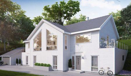 Gislehellinga/Vollen, illustrasjon av bolig.